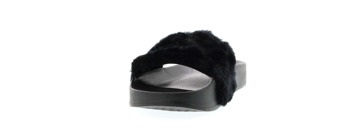 wholesale dealer 31877 6d37d Puma Fur Slide Fur Slide Black (W)
