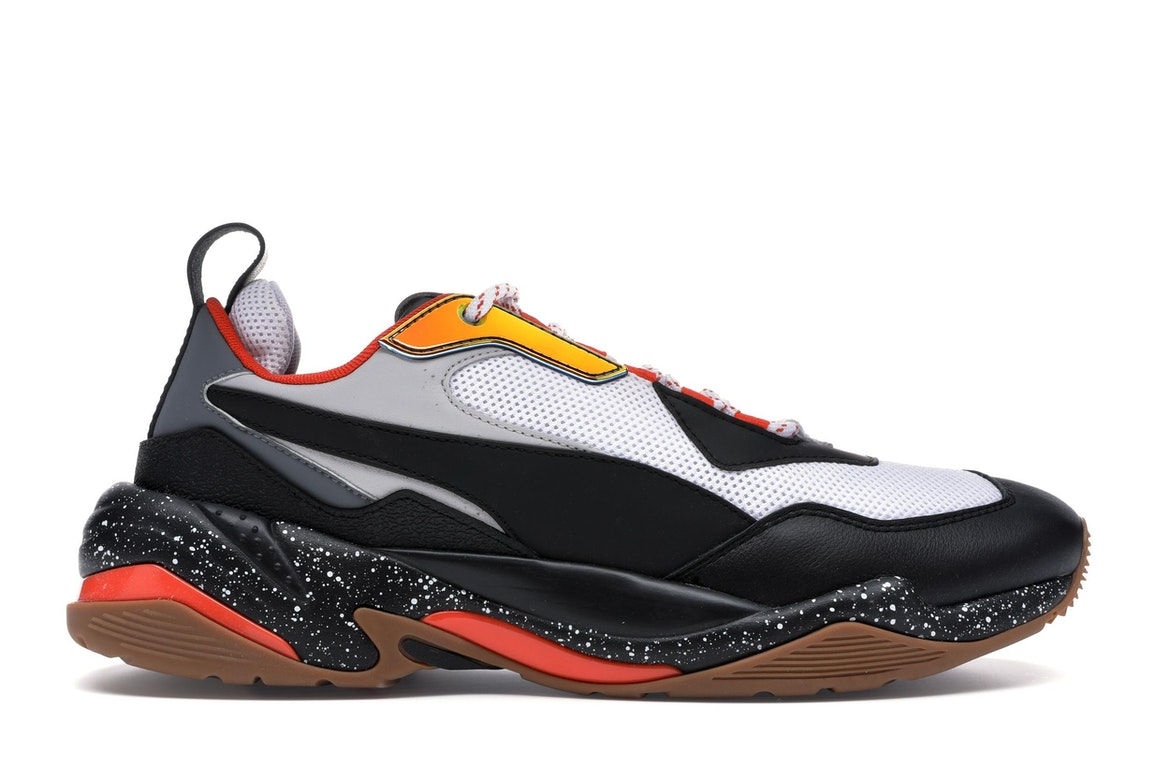 Puma Thunder Electric Black White Orange