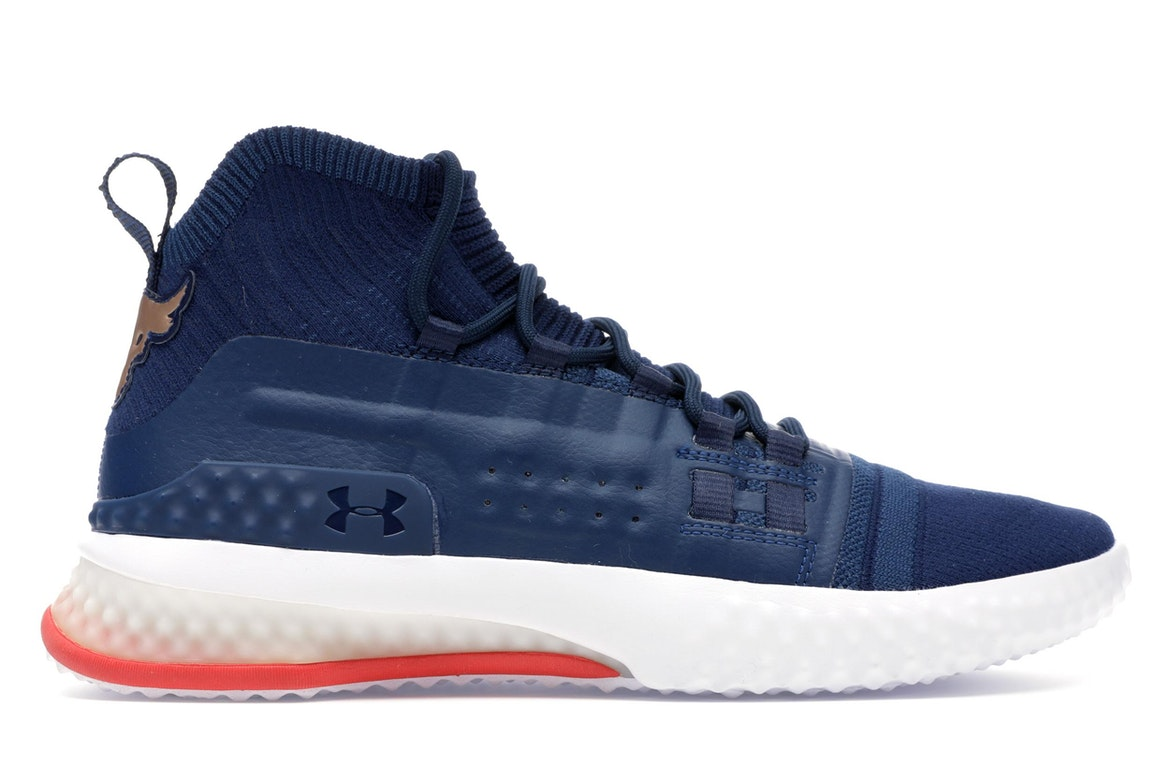 red white and blue under armour shoes
