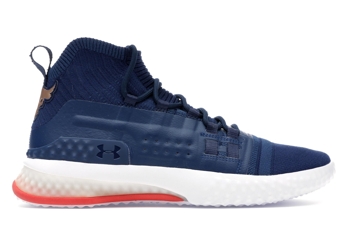 ae57464f Under Armour Project Rock 1 Blue White Red - 3020788-401
