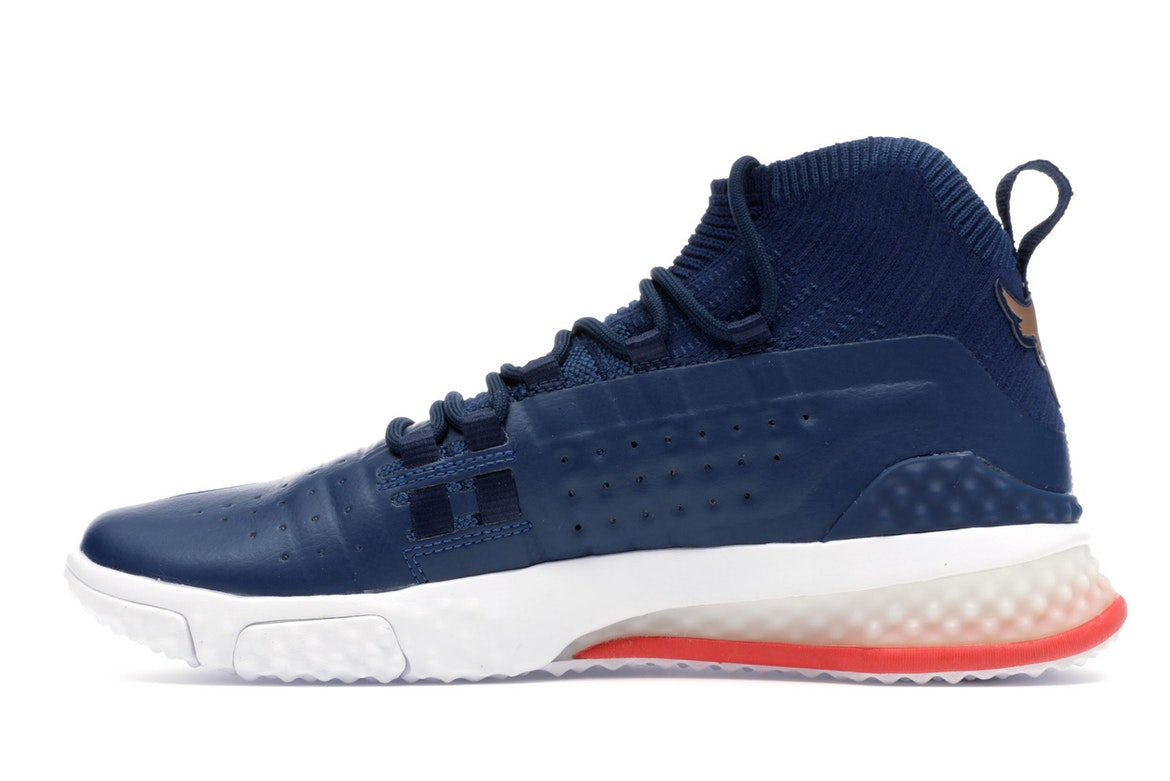 under armour project rock 1 blue white red