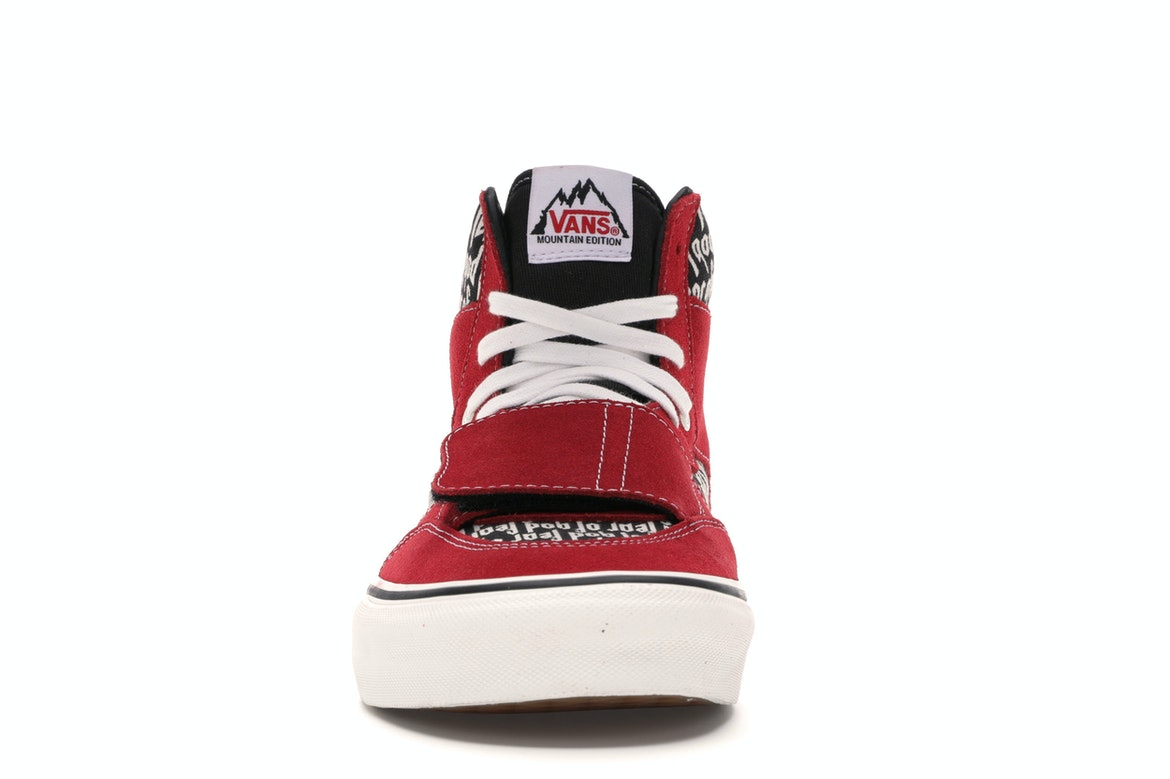 vans Mountain Edition rosso