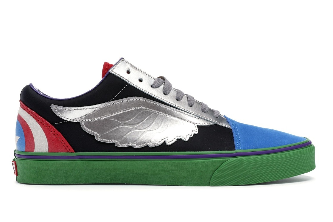Sell. or Ask. Size  13. View All Bids. Vans Old Skool Marvel What The  Avengers 63ec421ec