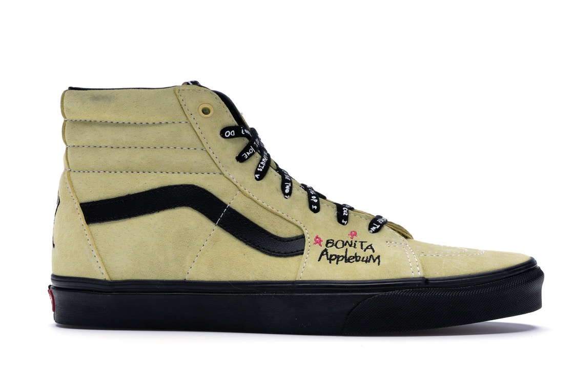 Vans Sk8-Hi A Tribe Called Quest (Yellow) - VN0A38GER31 2d8a35235