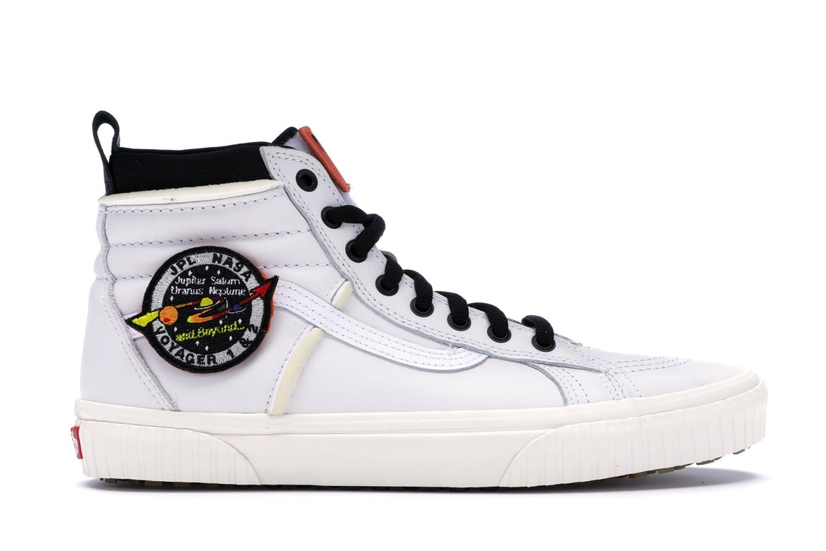 Vans Sk8-Hi MTE NASA Space Voyager True White