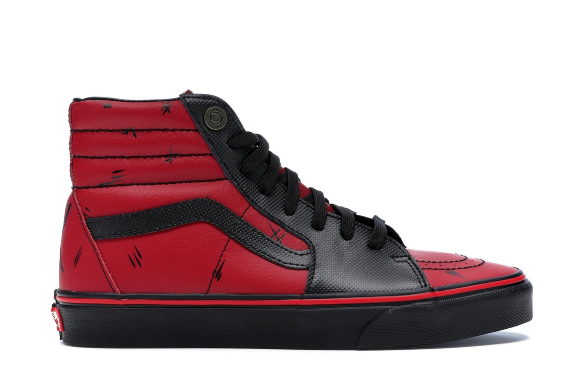 vans marvel deadpool