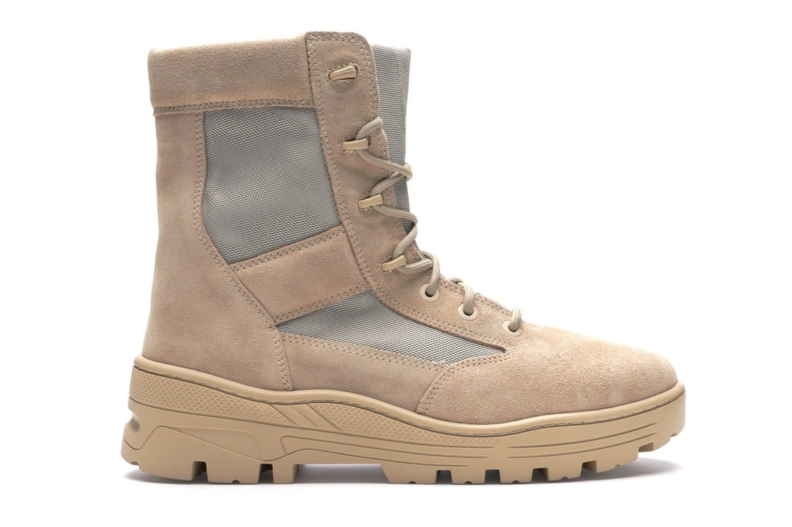 6ef589eeb0f20 Sell. or Ask. Size  43. View All Bids. Yeezy Combat Boot Season 4 Sand