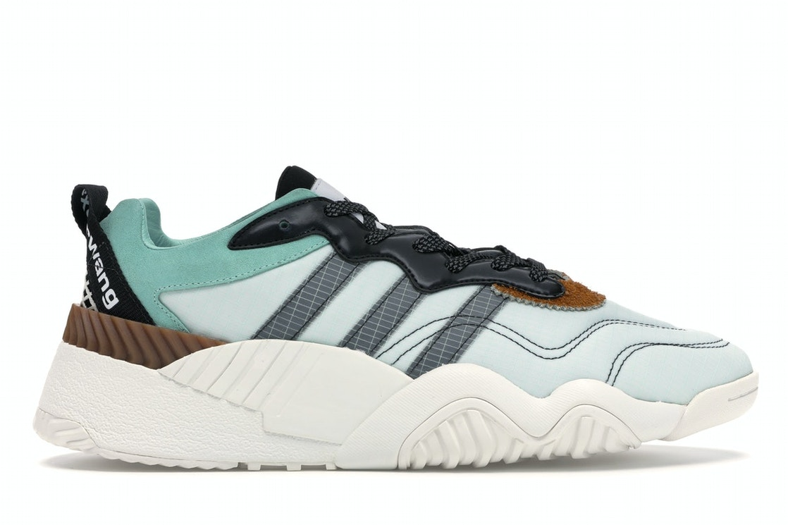 online store 15561 3693b adidas AW Turnout Trainer Alexander Wang Clear Mint Core Black