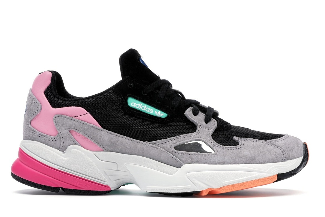 Gastos desempleo módulo  adidas Falcon Core Black Light Granite (W) - BB9173