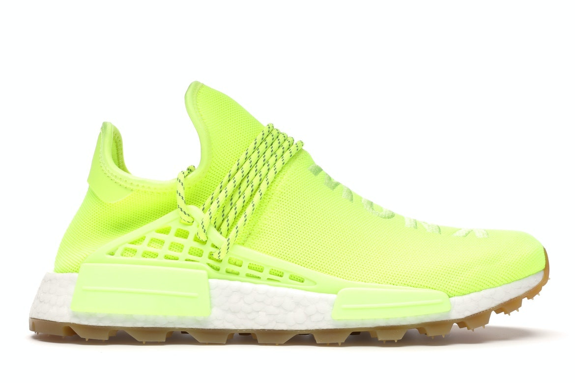 adidas NMD Hu Trail Pharrell Now Is Her Time Solar Yellow