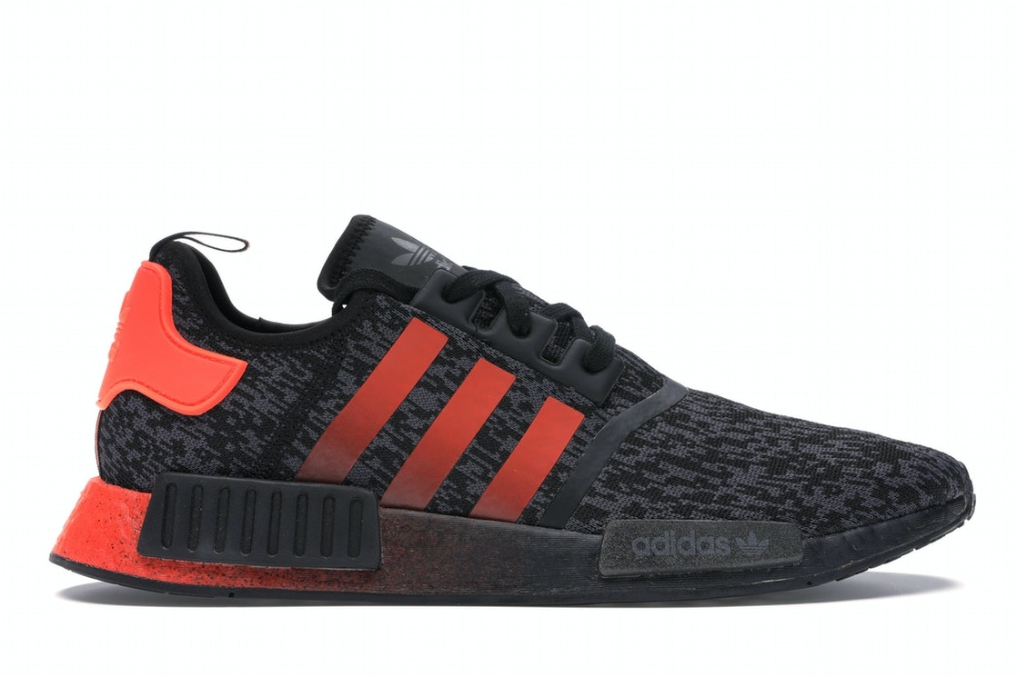 Adidas Nmd R1 Solar Red Core Black Eg7953