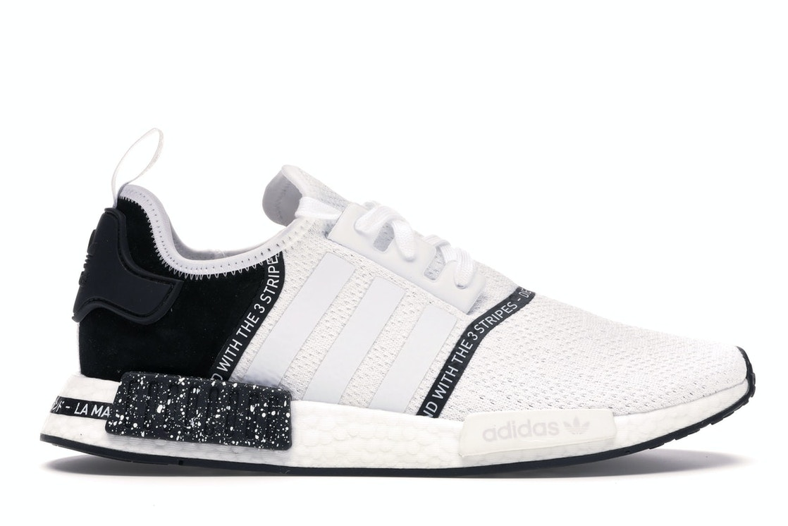 new style 007fb c5f47 adidas NMD R1 Speckle Pack White