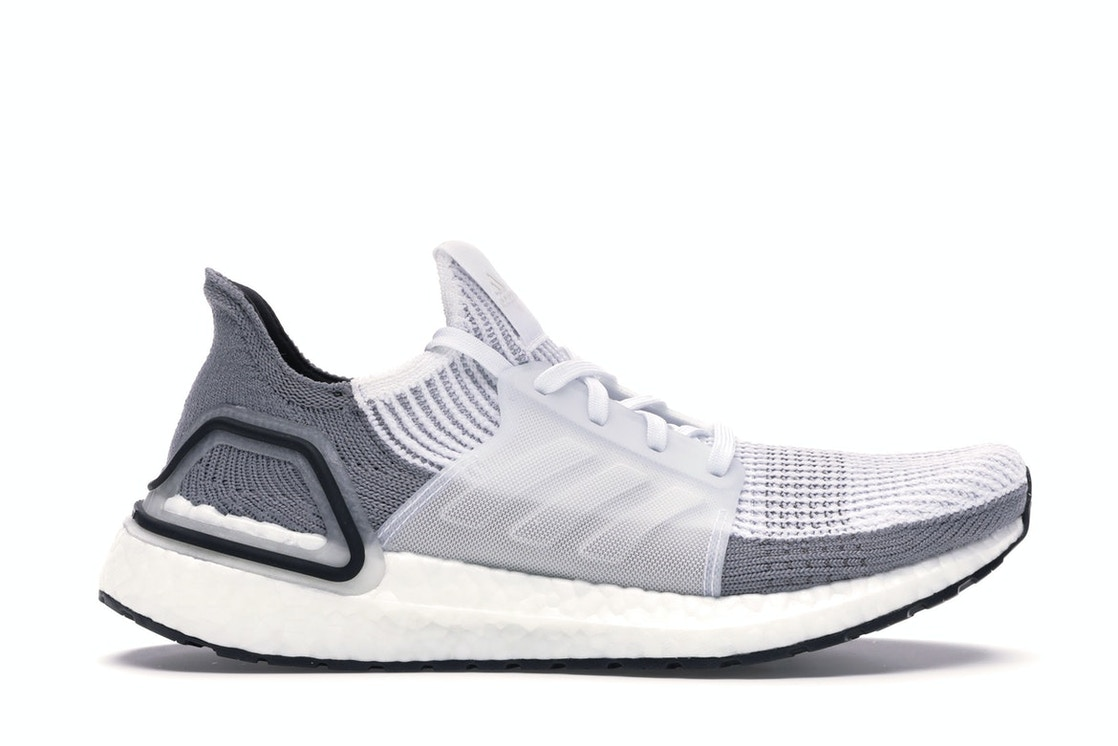 Adidas Ultra Boost 19 Cloud White Grey Two (W) by Stock X