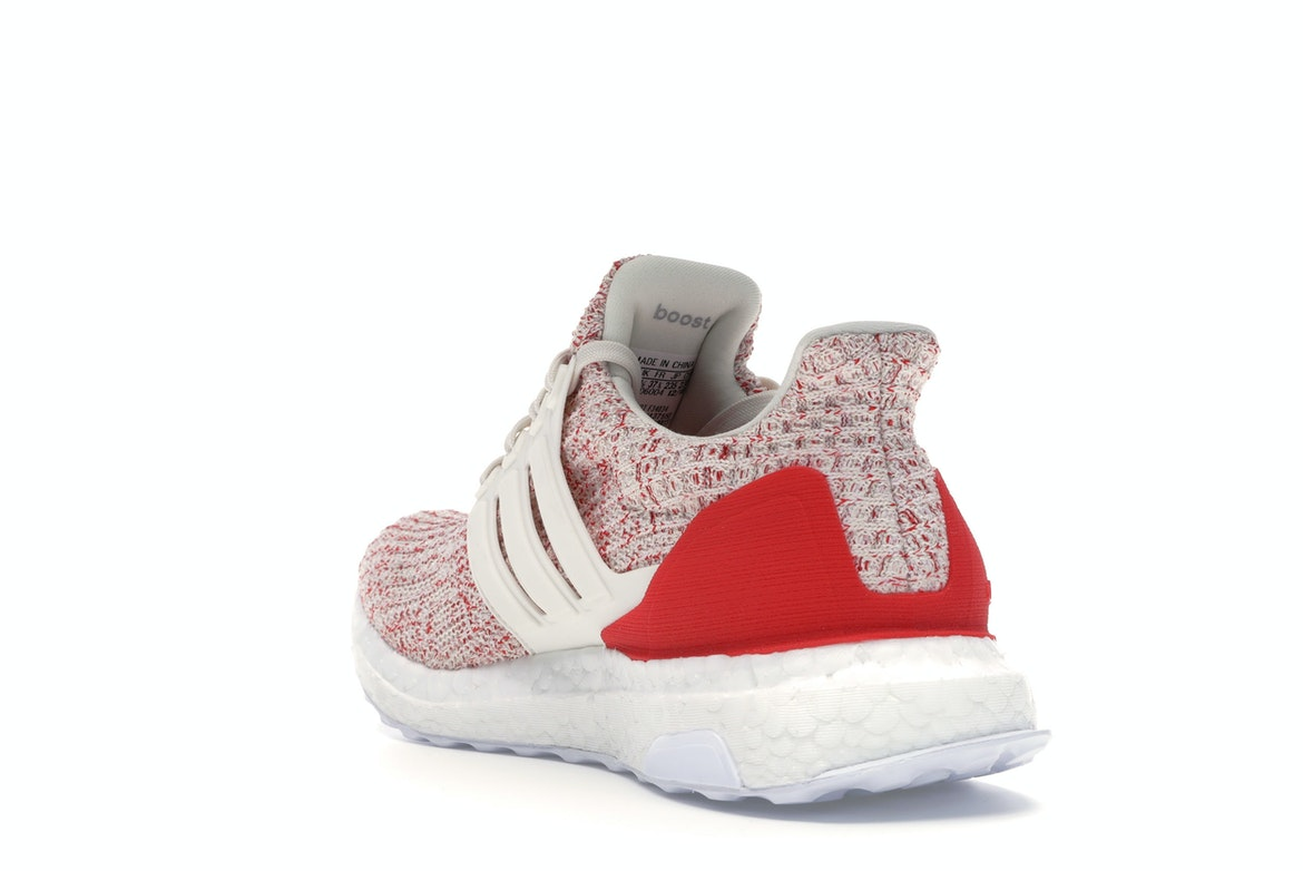 adidas Ultra Boost 4.0 Chalk White Active Red (GS