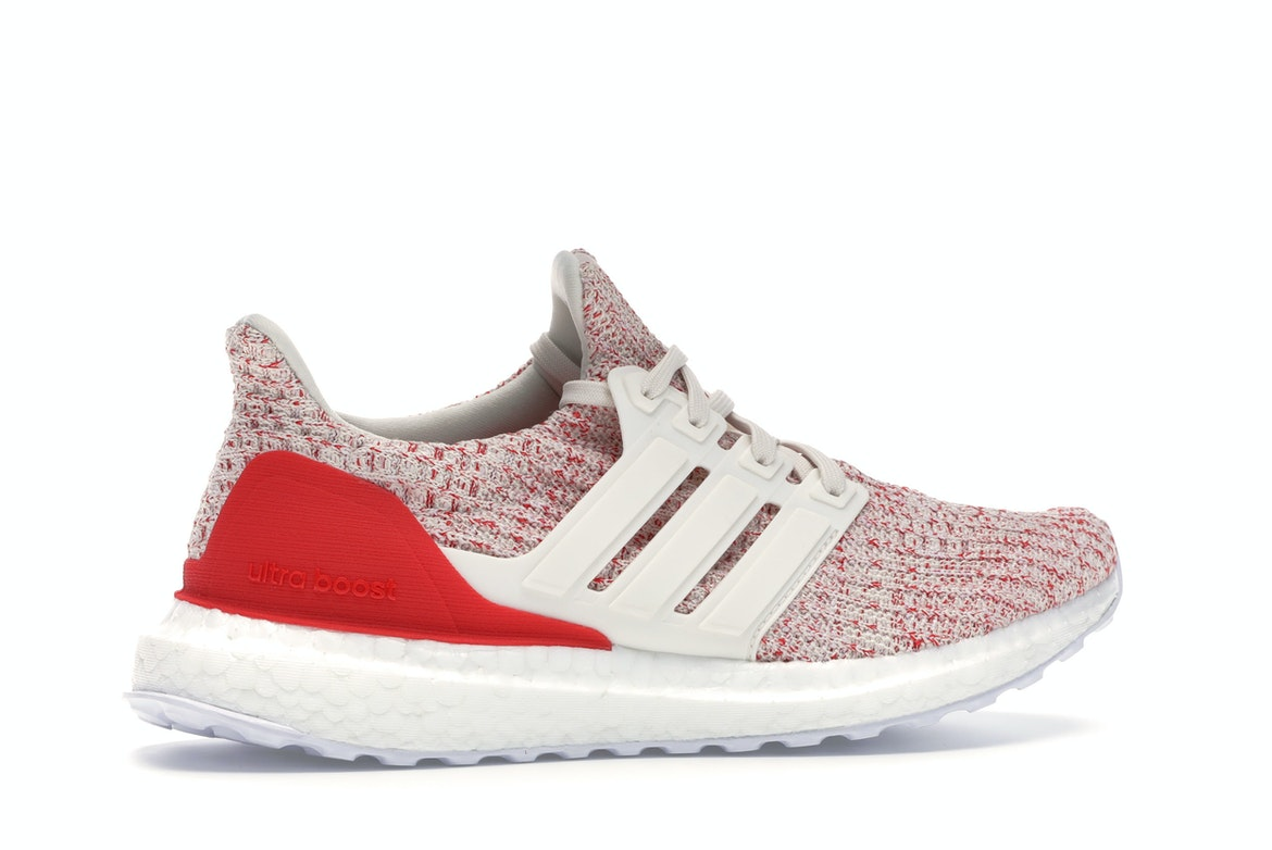adidas Ultra Boost 4.0 Chalk White Active Red (GS)