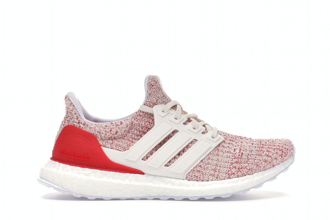 new product 9cef0 aa00f adidas Ultra Boost 4.0 Chalk White Active Red (W)