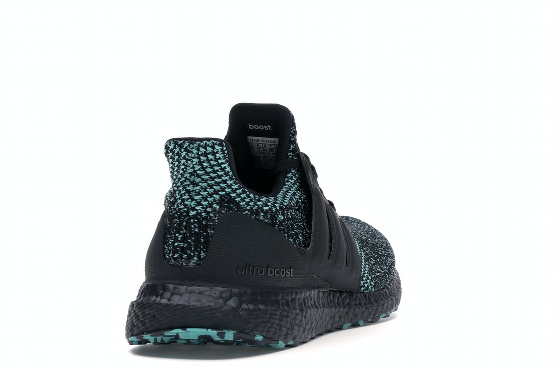 818e4dbf adidas Ultra Boost 4.0 Core Black True Green - EE3733