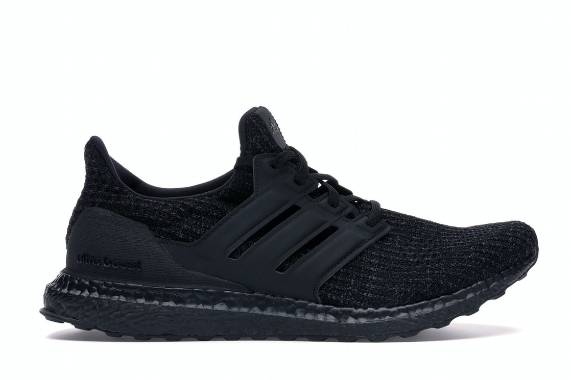 timeless design bf1c7 fe695 adidas Ultra Boost 4.0 Triple Black Nubuck Cage