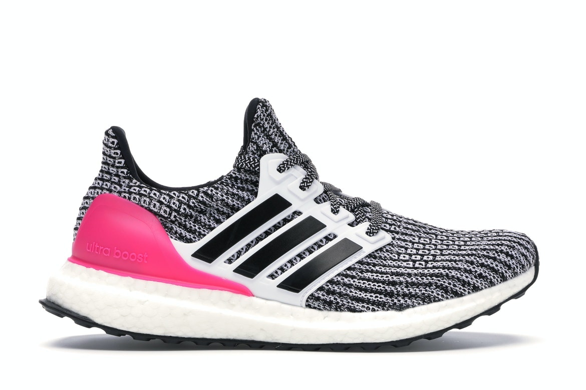 adidas Ultra Boost 4 White Black Pink
