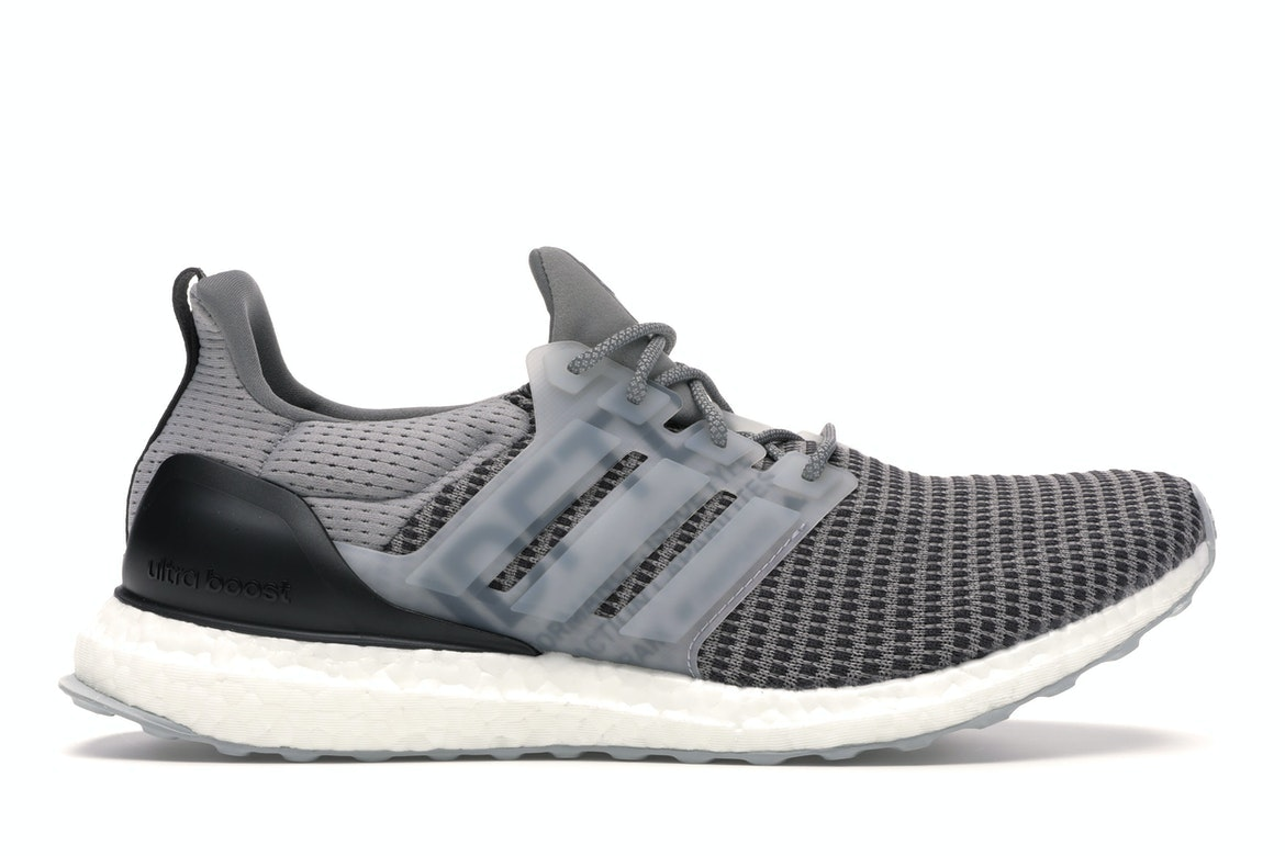 adidas Ultra Boost Undefeated Performance Running Grey
