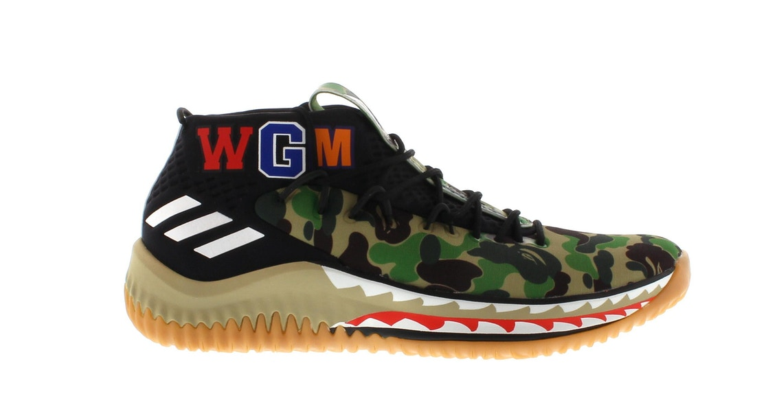 sports shoes cd96d 9b2a9 Sell. or Ask. Size 10. View All Bids. adidas Dame 4 A Bathing Ape Camo