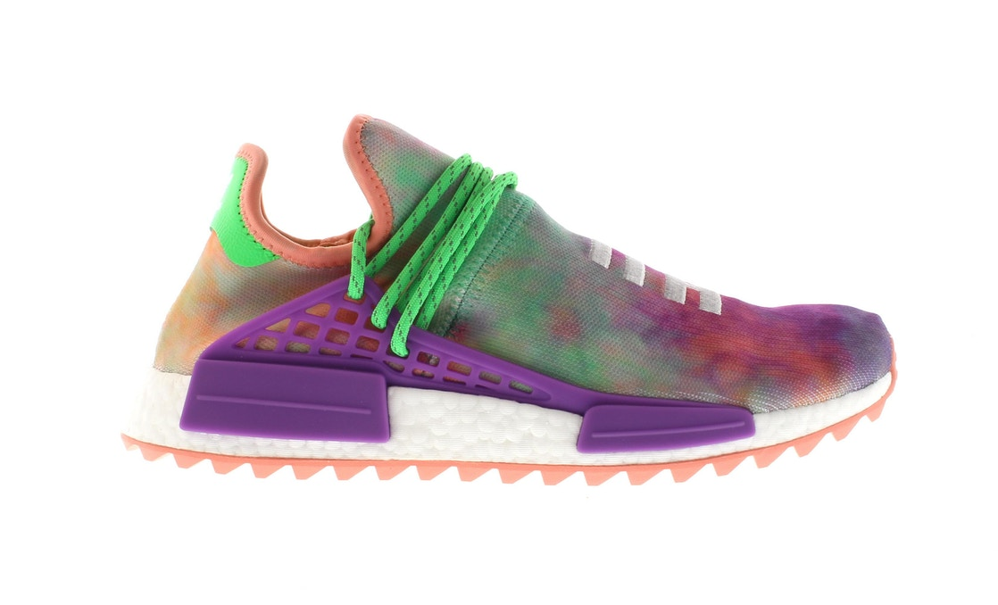 reputable site 7930c 4cd0d adidas Human Race NMD Pharrell Holi Festival (Chalk Coral)