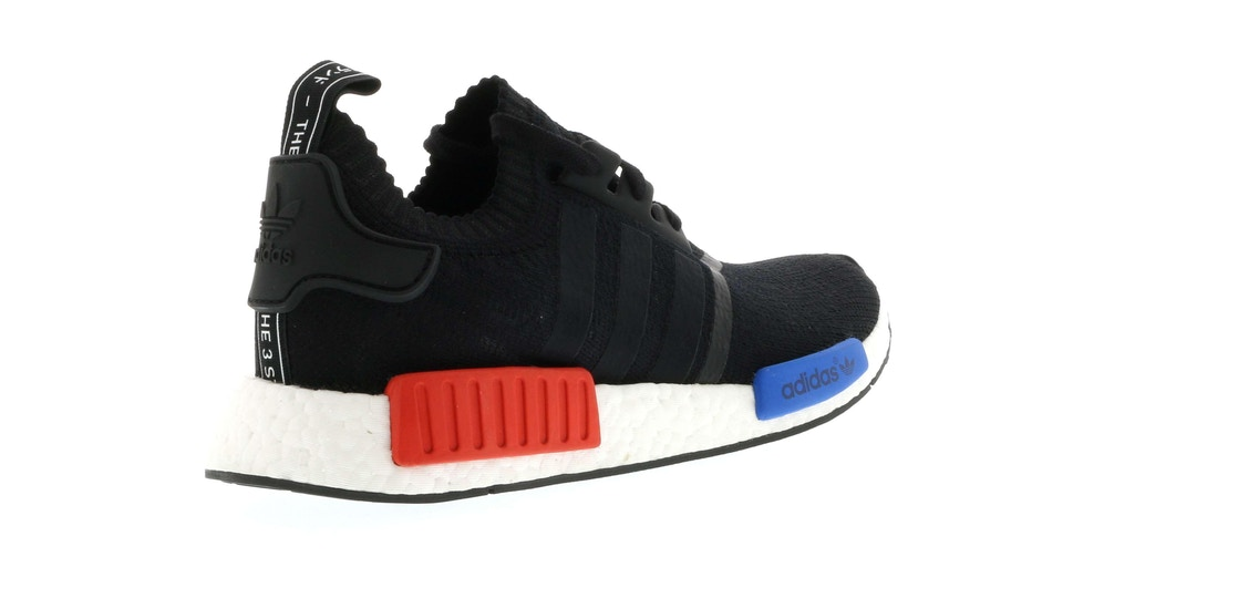 361a4382eb41 adidas NMD R1 Core Black Lush Red (2015 2017) - S79168