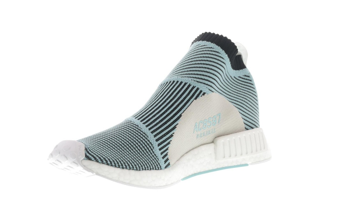 Details about Adidas Originals NMD CS1 Parley For The Ocean Primeknit Boost Blue Mens size 11