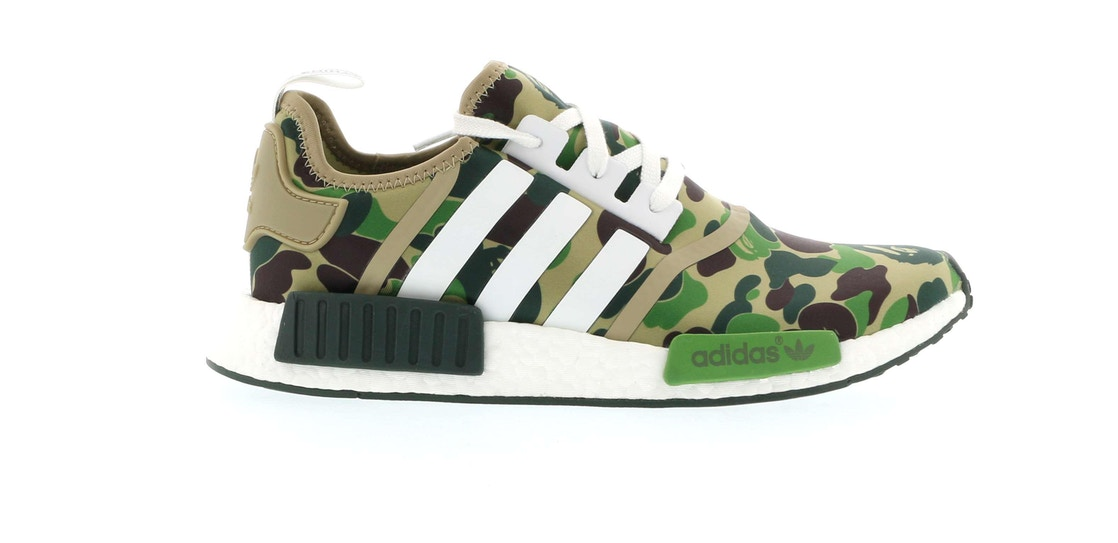 3367e9c1e7dce Sell. or Ask. Size  11.5. View All Bids. adidas NMD R1 Bape Olive Camo