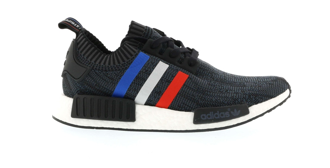 newest collection 217ab c8d99 adidas NMD R1 Tri Color Stripes Black