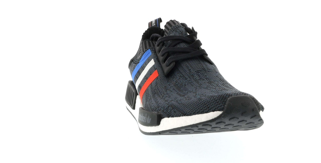 newest collection a36ed a0b78 adidas NMD R1 Tri Color Stripes Black