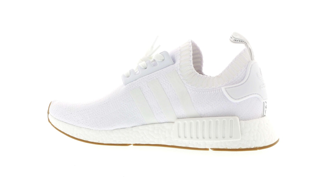 f7245f40e adidas NMD R1 Gum Pack White - BY1888
