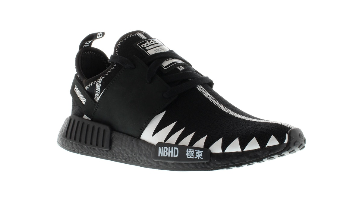 6c6bb86456560 adidas NMD R1 Neighborhood Core Black - DA8835