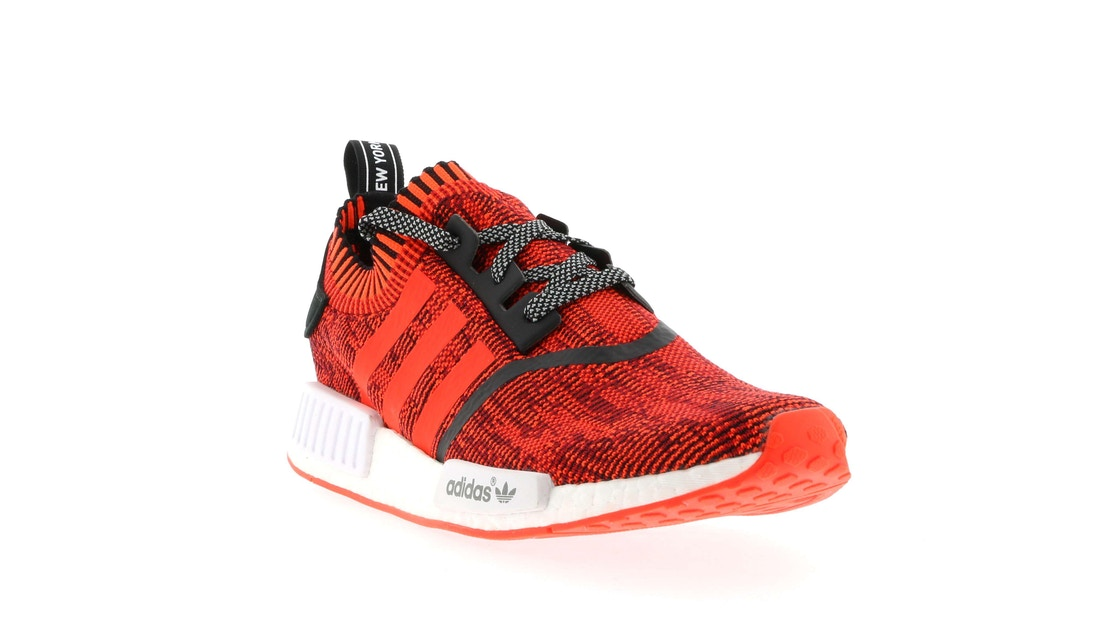 big sale ee5ff 7ebec adidas NMD R1 NYC Red Apple - BY1905