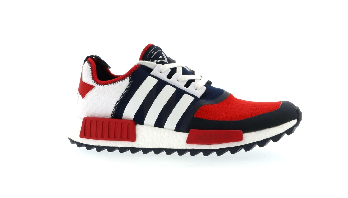outlet store sale 243cc dbe2d adidas NMD R1 Trail White Mountaineering Collegiate Navy