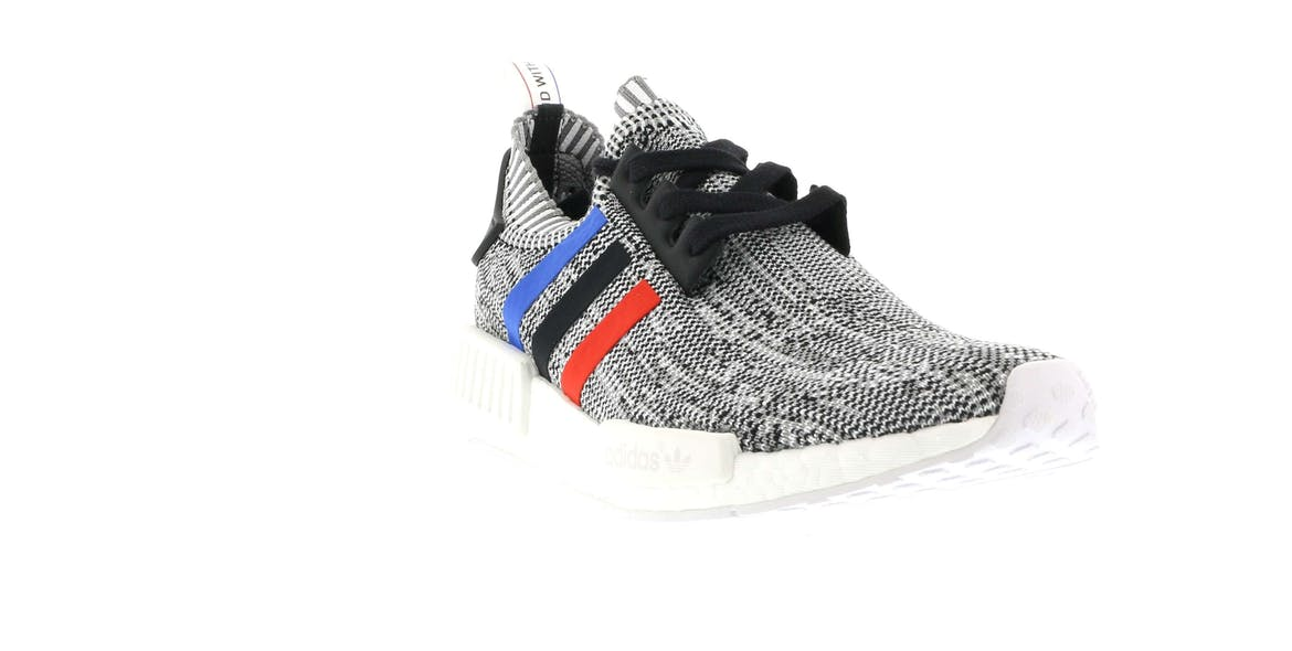 adidas NMD R1 Tri Color Stripes White