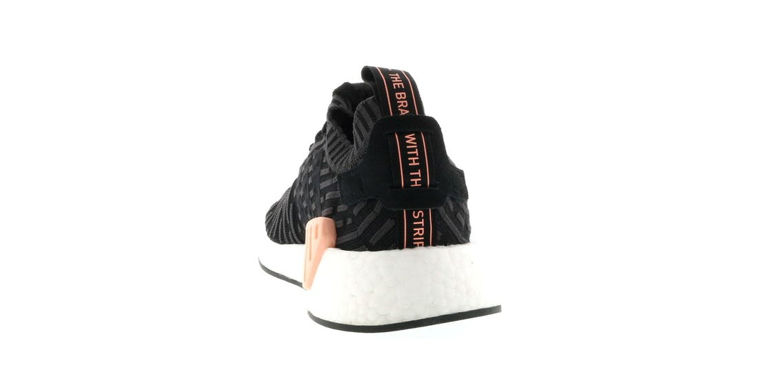 adidas NMD R2 Black Kicks On Fire