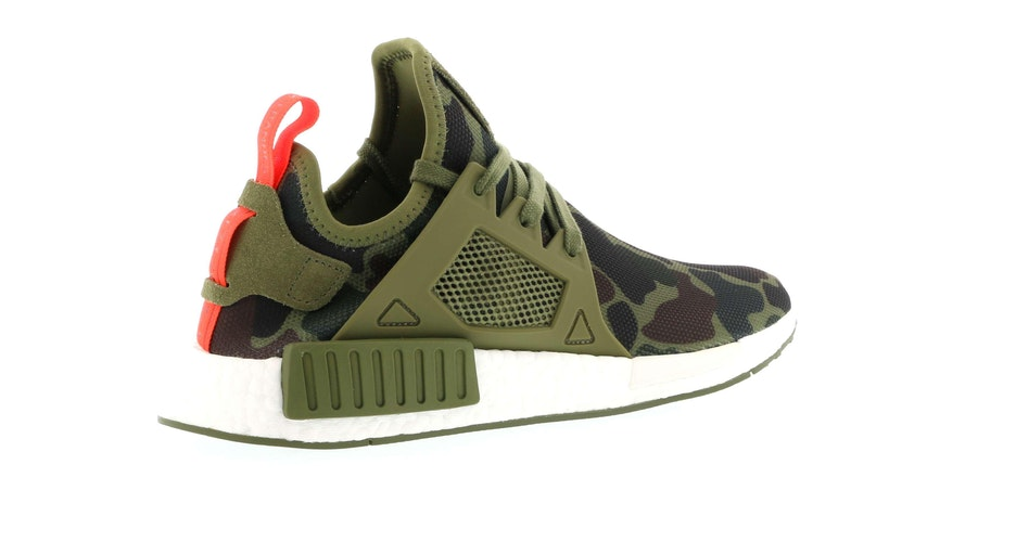 New Adidas NMD XR 1 Olive Duck Camo, Size 10.5