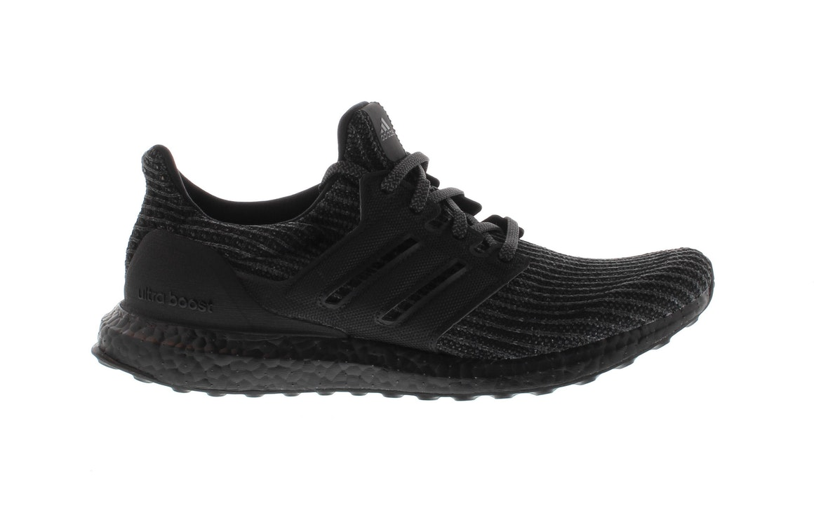 adidas triple black shoes