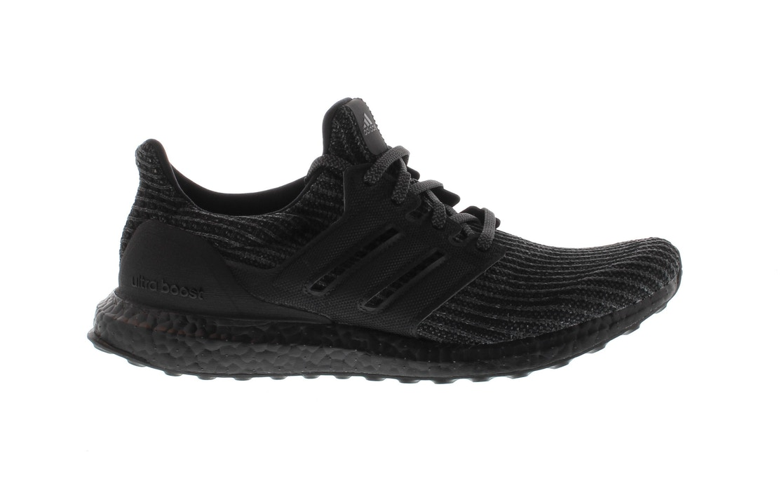 9baced7c4b9e adidas Ultra Boost 4.0 Triple Black - BB6171