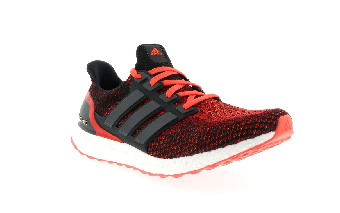 1285b5ab8fd ... clearance adidas ultra boost 2.0 core black solar red d01b1 fad1a