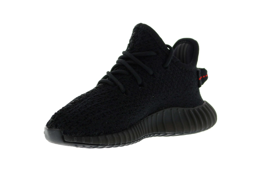 adidas Yeezy Boost 350 V2 Infant Black Red BB6372 ...