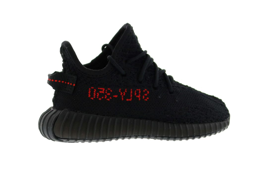 adidas Yeezy Boost 350 V2 Black Red Infant (I) - BB6372