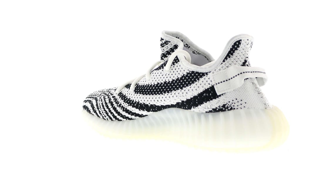 NEW Men 's Cheap Adidas Yeezy Boost 350' Zebra 'V2 CP9654 DS