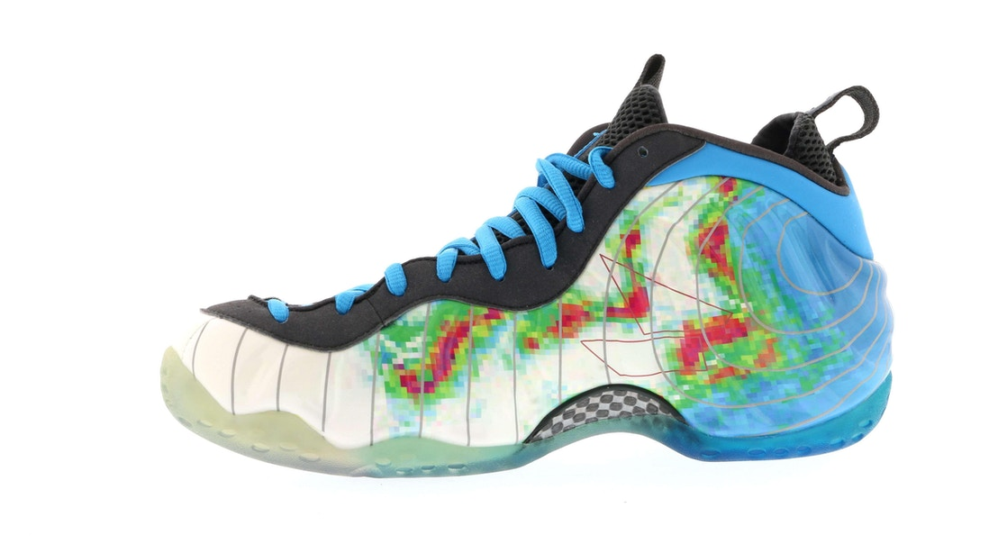 detailed pictures f1bcb 00bfc Air Foamposite One Weatherman - 575420-100