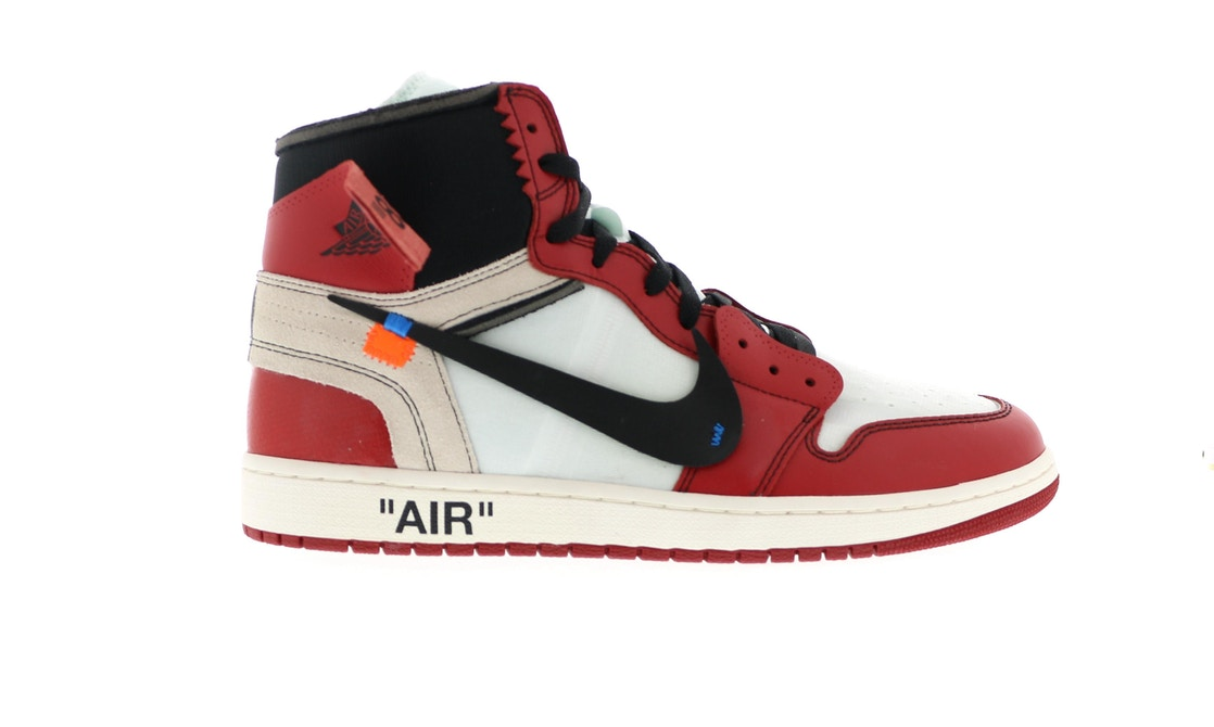 4fce17fa371f0a Jordan 1 Retro High Off-White Chicago - AA3834-101