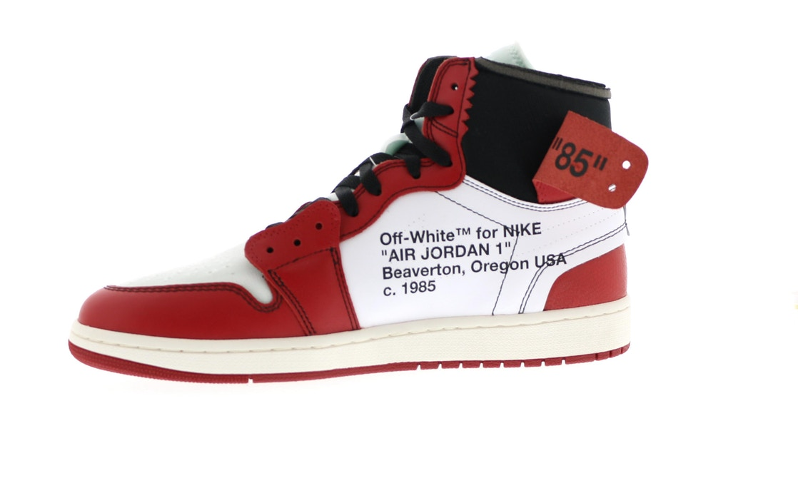 huge discount 6f5cb 64ed9 Jordan 1 Retro High Off-White Chicago - AA3834-101