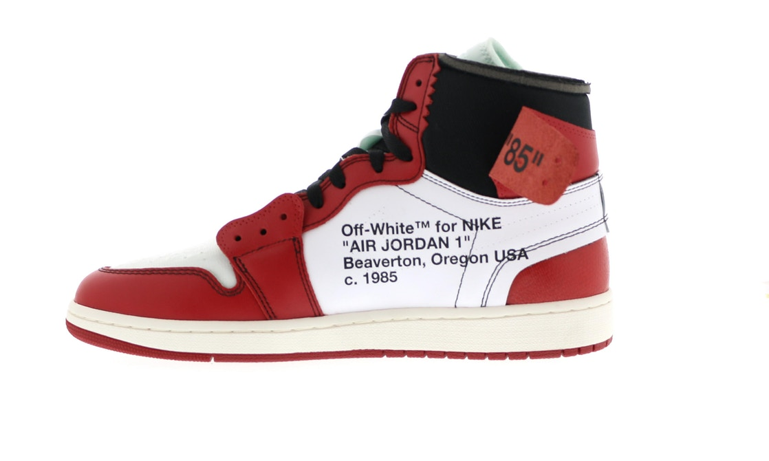 huge discount 82acf 02c58 Jordan 1 Retro High Off-White Chicago - AA3834-101