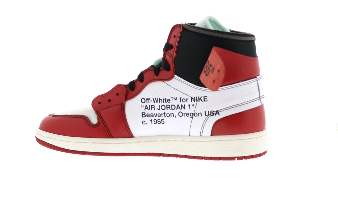 1858a482d7445e Jordan 1 Retro High Off-White Chicago - AA3834-101