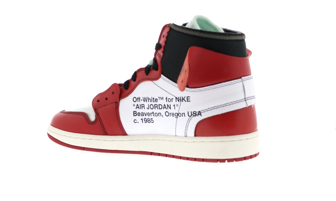 huge discount 49e2e b233b Jordan 1 Retro High Off-White Chicago - AA3834-101